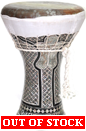 Gawharet El Fan Clay Darbuka - Fish Skin CAT#6000