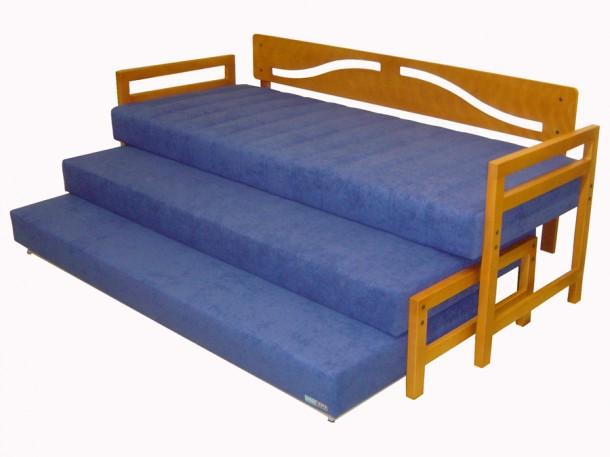 מיטת וידר - דגם שלישייה B
