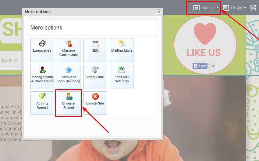 Bring-a-Friend, a new, more comfortable link sharing option