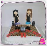 עוגה למסיבת ריקודים