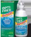 שלישיית תמיסות אופטי פרי ריפלניש לעדשות מגע OPTI-FREE Replenish