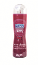"ג'ל סיכוך (50 מ""ל) Durex Play Cherry"