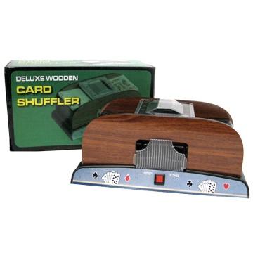 מערבב קלפים עץ