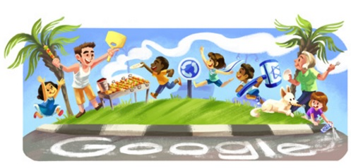 דודל של גוגל ליום העצמאות