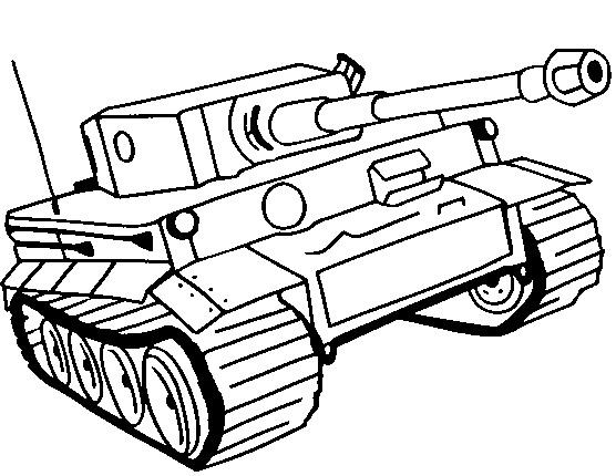 דפי צביעה טנקים