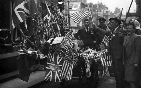 חגיגות יום הניצחון בלונדון