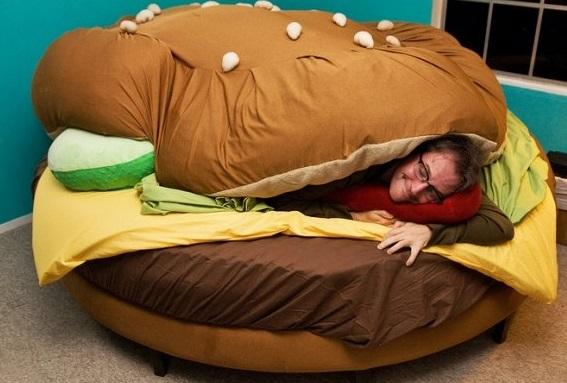 מיטת המבורגר