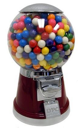 מכונת מסטיקים עגולים