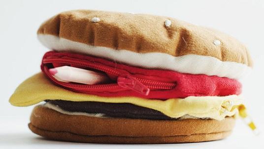 קלמר בצורת המבורגר