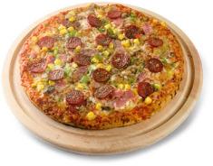 פיצה מחוממת במיקרוגל