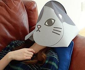 מסיכת חתול לשינה