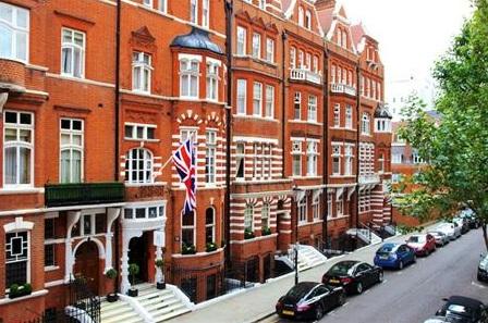 מלון מספר 11 קדוגן גרדנס לונדון
