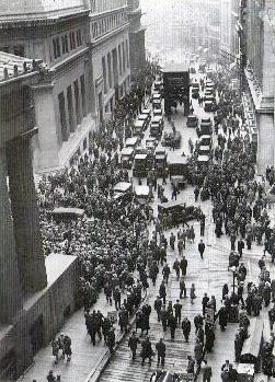 התמוטטות וול סטריט 1929
