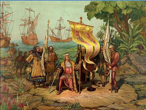 קולומבוס ביבשת אמריקה