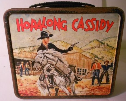 קופסת אוכל HOPALONG CASSIDY
