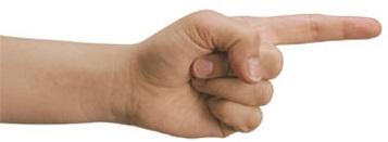 הצבעה עם האצבע
