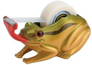 מתקן לנייר דבק צפרדע