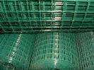 גדר רשת ירוקה ממתכת מגולוונת גובה 1 מטר