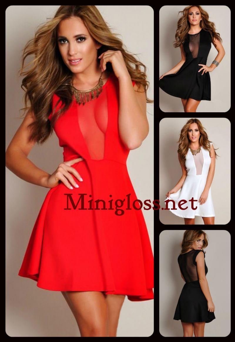 Купить красное платье