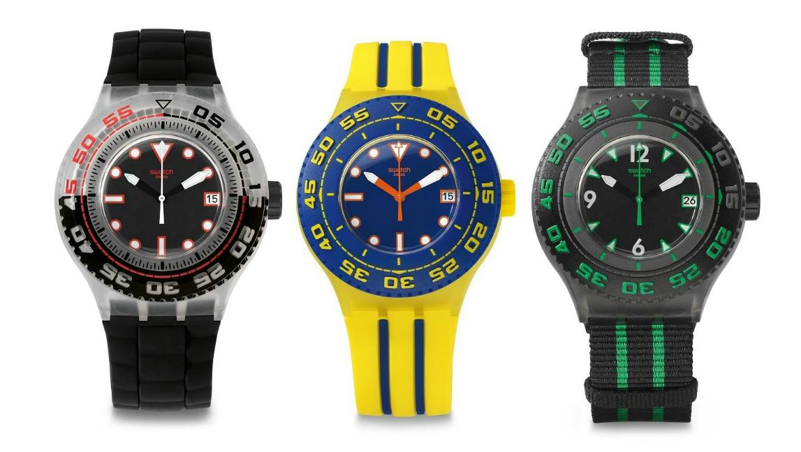 Collection Swatch 2013 Swatch Scuba Libre Collection