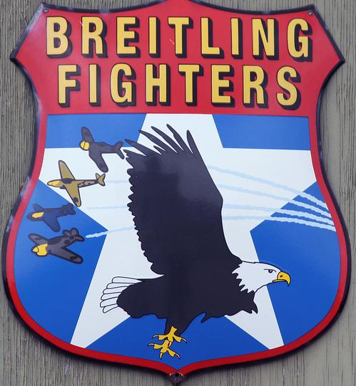 Fighters Team Logo Breitling Fighters Logo