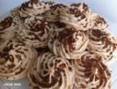עוגיות שקדים, ברנדי וקוקוס