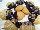 עוגיות חמאה בציפוי שוקולד