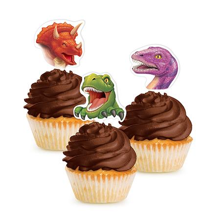 טופרים לקאפקייקס דינוזאורים