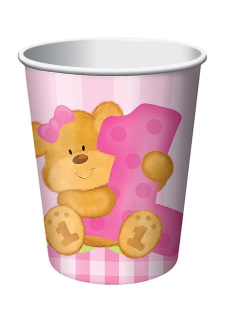 כוסות הדובי שלי בנות