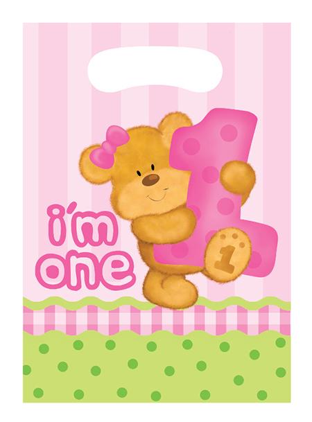שקיות יום הולדת הדובי שלי בנות
