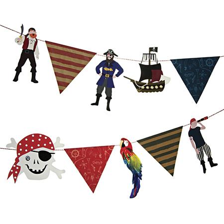 שרשרת דגלים פיראטים