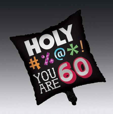 בלון מיילר Holy Bleep - גיל 60