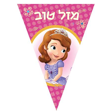 שרשרת דגלים הנסיכה סופיה