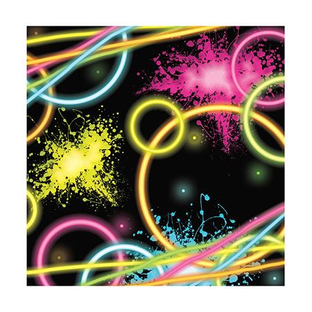 מפיות קטנות Glow Party