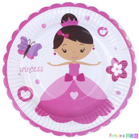 צלחות גדולות הנסיכה הקסומה