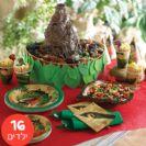 חבילה מורחבת דינוזאורים ל- 16 ילדים