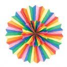 """מניפת נייר 30 ס""""מ - צבעונית"""