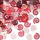 קונפטי ספירלה - אדום