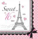 מפיות גדולות פריז - Sweet 16