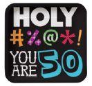 צלחות קטנות Holy Bleep - גיל 50