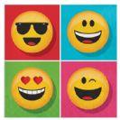 מפיות גדולות מסיבת Emoji