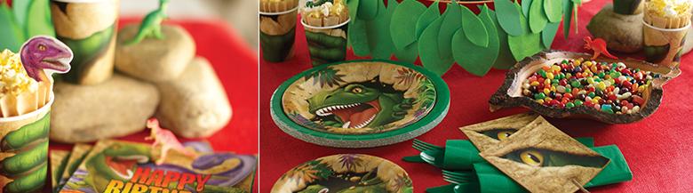 יום הולדת דינוזאורים | כלים חד פעמיים דינוזאורים