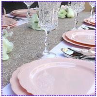 השראה לעיצוב שולחן  אירוח חגיגי