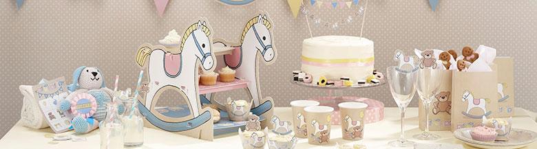 יום הולדת סוס נדנדנה | כלים חד פעמיים סוס נדנדה