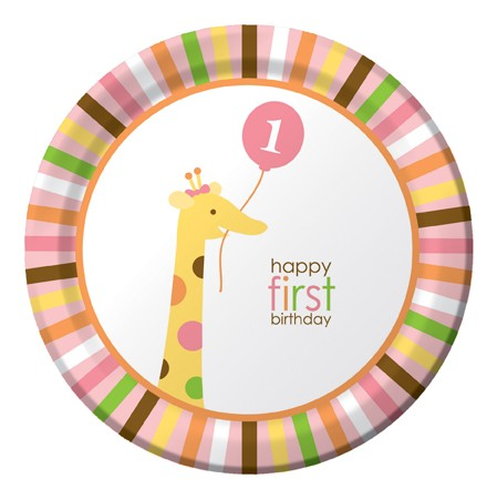 יום הולדת שנה - חגיגה בספארי בנות