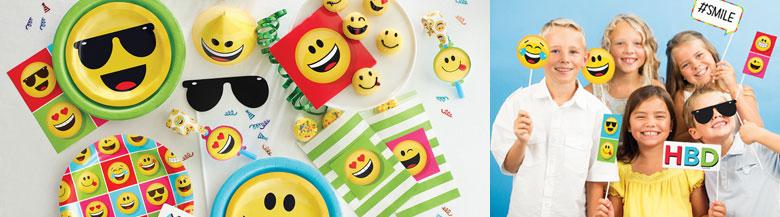 כלים חד פעמיים Emoji   מסיבת Emoji