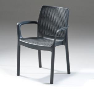 כסא ראטן לגינה