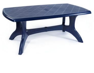 שולחן פלסטיק לחצר