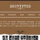 פרויקט No More Ransom הפך למאמץ גלובלי: הצטרפו 13 גופי משטרה