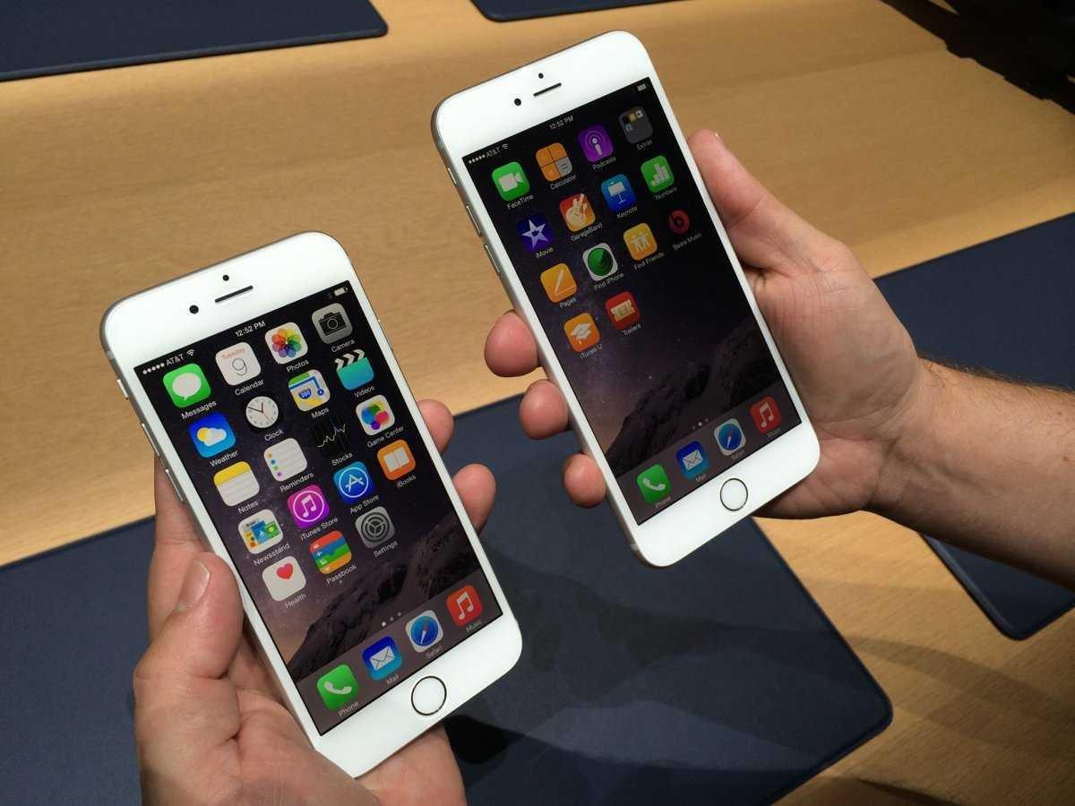 אייפון 6 אייפון 6 פלוס
